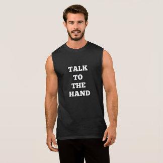 Regata Conversa à camisola de alças da mão