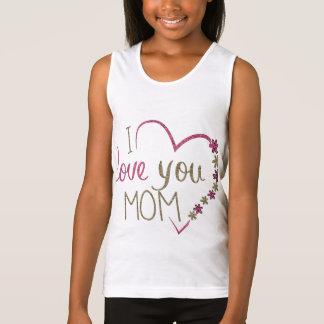 Regata Coração do dia das mães da mamã do amor