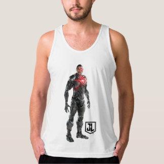 Regata Cyborg da liga de justiça | no campo de batalha