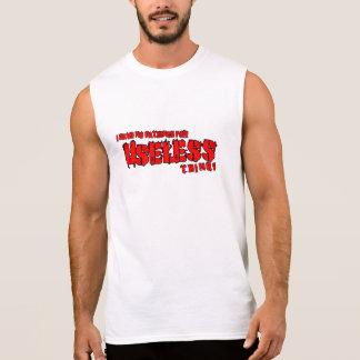 Regata Da paciência dos homens t-shirt sem mangas do