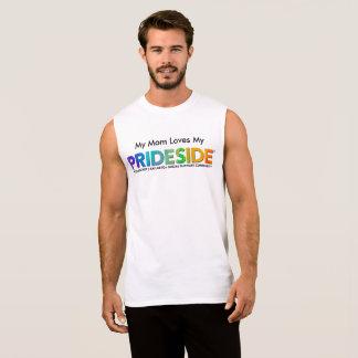 Regata De PRIDESIDE® T sem mangas do algodão ultra