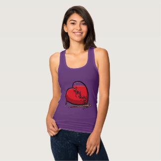 Regata Design do coração de sangramento