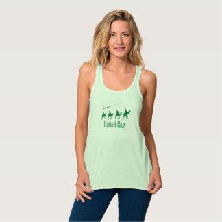 Regata Design do verde do passeio do camelo