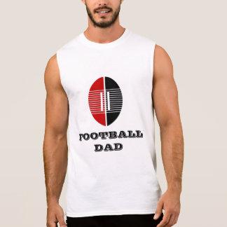 Regata Do futebol do pai dos homens t-shirt sem mangas do