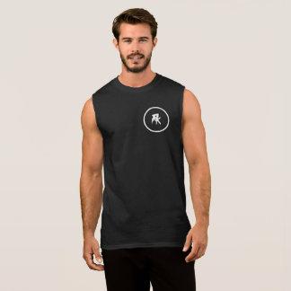 Regata Dos homens t-shirt sem mangas do algodão ultra,