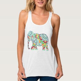 Regata Elefante invertido colorido