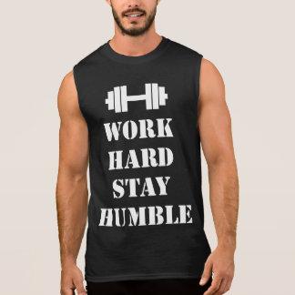 Regata Estada dura do trabalho humilde - Dumbbell