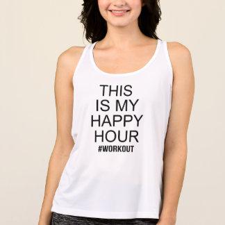 Regata Este é meu exercício do happy hour