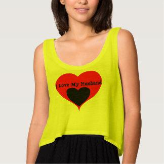 Regata Eu amo minhas camisa/camisetas do coração do