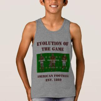 Regata Evolução do jogo--Futebol americano