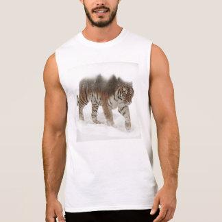 Regata Exposição-animais selvagens tigre-Tigre-dobro