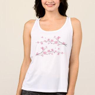 Regata Flor de cerejeira - fundo transparente