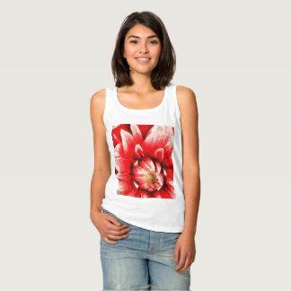 Regata Flor vermelha grande