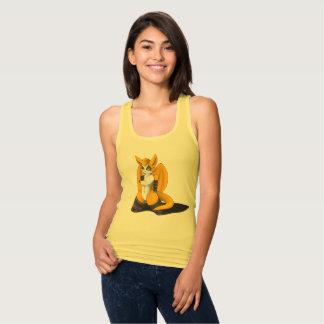 Regata Fox magro da camisola de alças de Racerback do