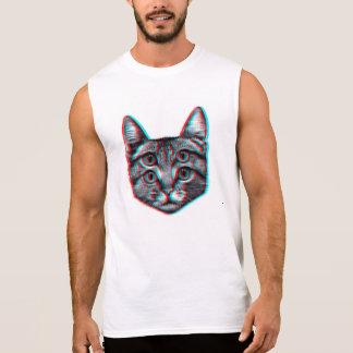 Regata Gato 3d, 3d gato, gato preto e branco