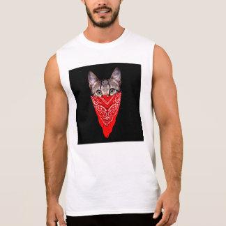 Regata gato do gângster - gato do bandana - grupo do gato