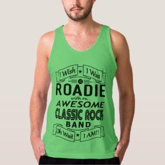 Regata Grupo de rock clássico impressionante de ROADIE