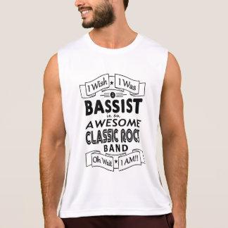 Regata Grupo de rock clássico impressionante do BAIXISTA