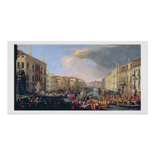 Regata guardarada em honra de Frederick VI de Dina Poster