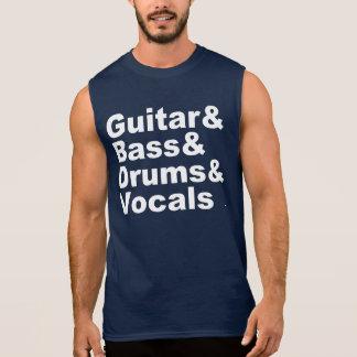 Regata Guitar&Bass&Drums&Vocals (branco)