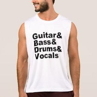Regata Guitar&Bass&Drums&Vocals (preto)