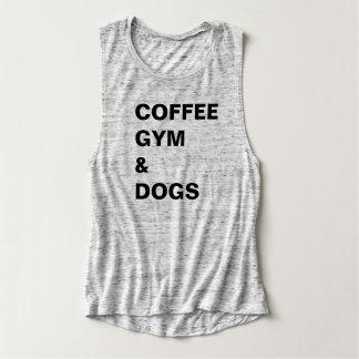 Regata Gym do café & T dos cães