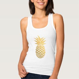 Regata Hawaiian do abacaxi da folha de ouro
