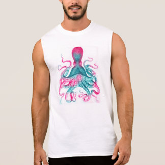 Regata Ilustração do polvo - vintage - kraken