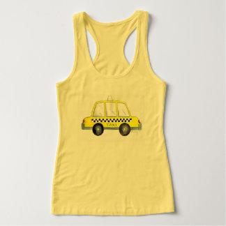 Regata Impressão Checkered do táxi da Nova Iorque amarela