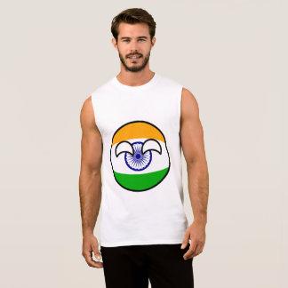 Regata India Geeky de tensão engraçado Countryball
