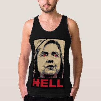 Regata Inferno curvado de Hillary Clinton - Anti-Hillary