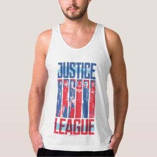 Regata Liga de justiça pop art azul & vermelho de   do