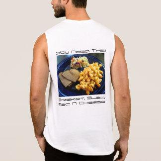 Regata Mac de Slaw da carne do peito