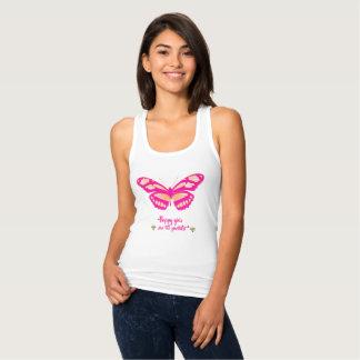 Regata Meninas felizes da borboleta