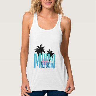 Regata Miami Beach, Florida, tipografia legal
