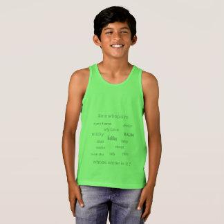 Regata MMetropolim CAÇOA o t-shirt do tanque do jérsei