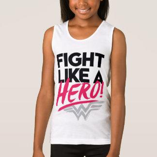 Regata Mulher maravilha - luta como um herói