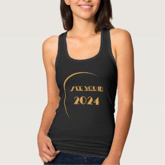 Regata Mulheres do t-shirt do eclipse