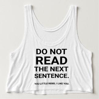 Regata Não leia