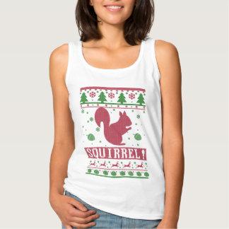 Regata Natal feio do esquilo
