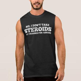 Regata Nenhum eu não tomo obrigados dos esteróides para