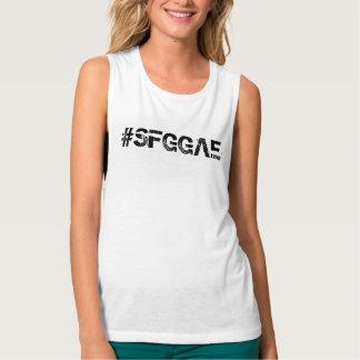 Regata O Bella das mulheres de SFGGAE+Camisola de alças
