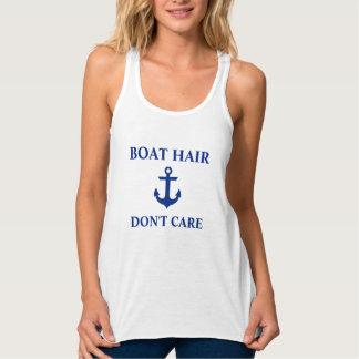 Regata O cabelo náutico do barco não se importa o tanque