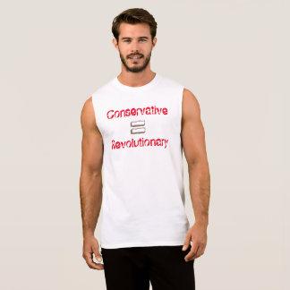 Regata O conservador iguala o t-shirt revolucionário