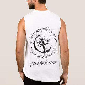 Regata O logotipo de GSR e vagueia t-shirt