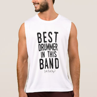 Regata O melhor baterista (provavelmente) (preto)