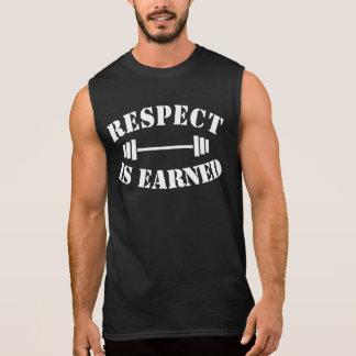 Regata O respeito é ganhado o Gym inspirador legal