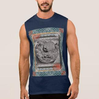 Regata O t-shirt dos homens do paraíso do coco