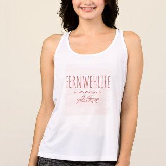 Regata O tanque das mulheres de Fernweh Racerback
