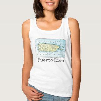 Regata O tanque das mulheres do mapa de Puerto Rico